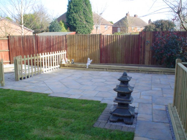 Mac gardening services for Garden decking hinckley